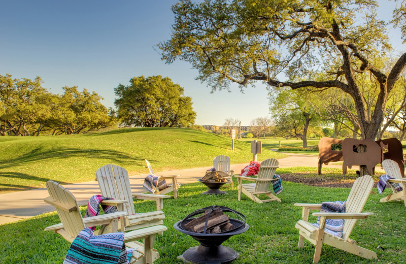 Grounds at Hyatt Regency Hill Country Resort and Spa.
