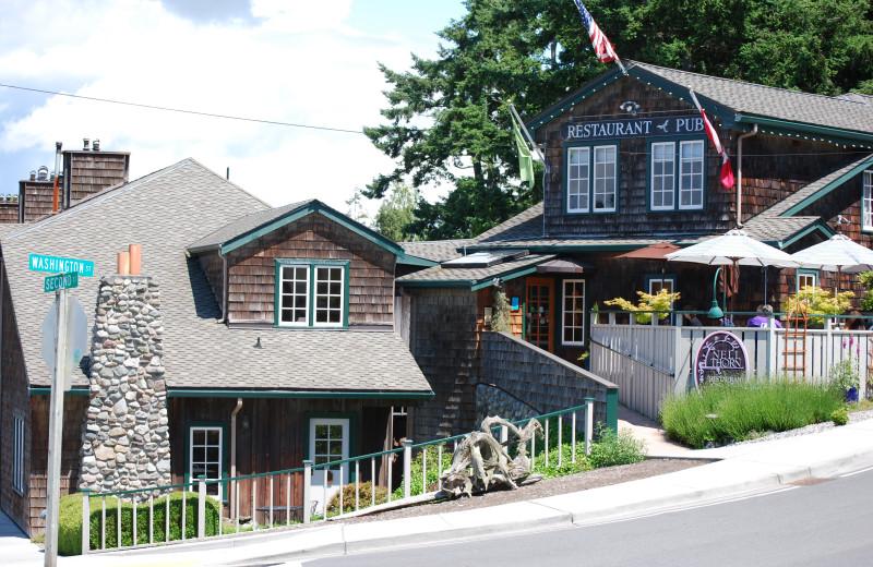 Restaurant at La Conner Country Inn.