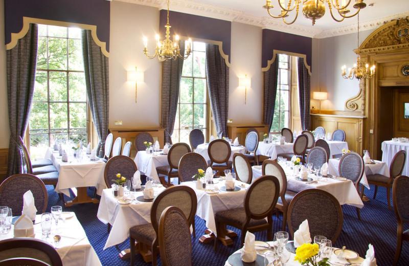 Dining at Royal Scots Club.