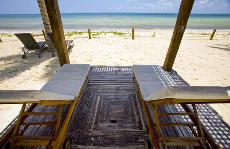 The beach at BlueBay Grand Esmeralda.