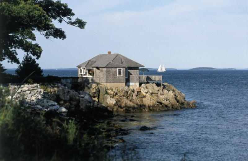Exterior Cottage View of The Samoset Resort