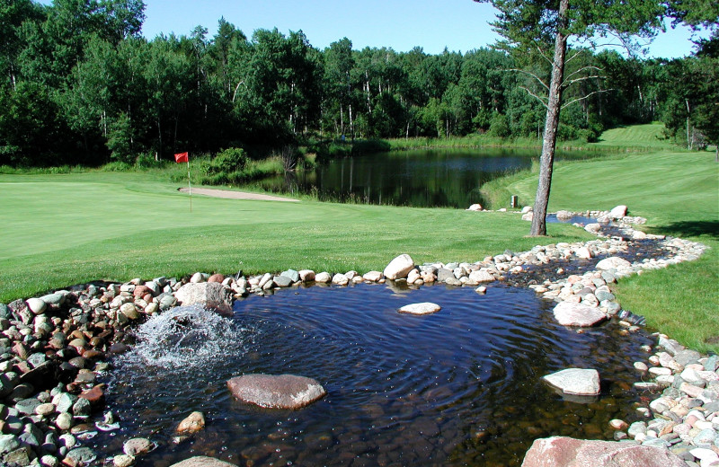 Golf course at Breezy Point Resort.