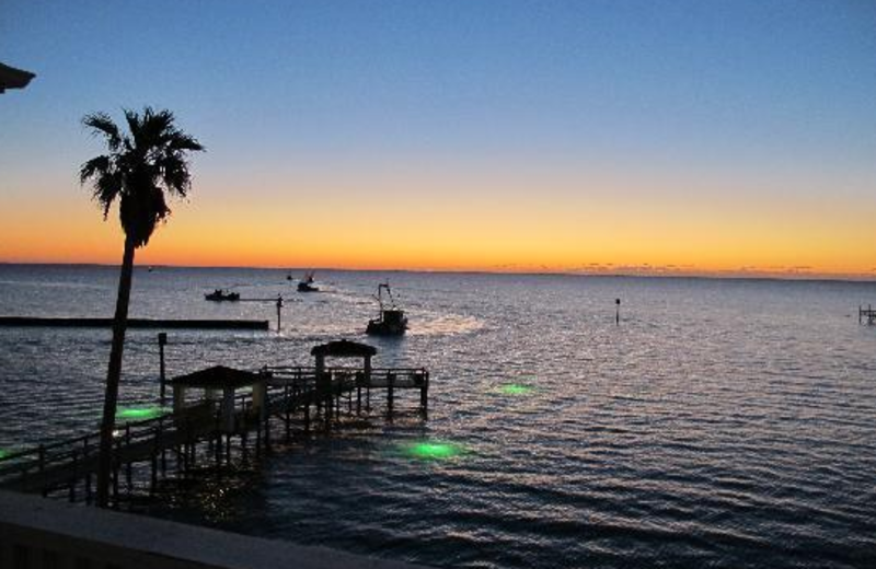 Beautiful Aransas Bay at The Lighthouse Inn at Aransas Bay.