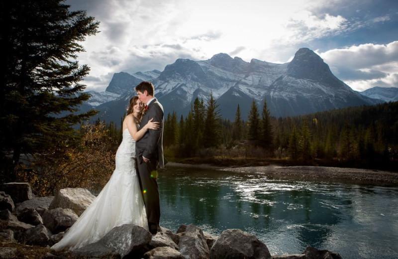 Wedding at Grande Rockies Resort.