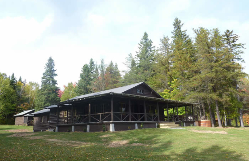 Exterior view of Camp Stanton.