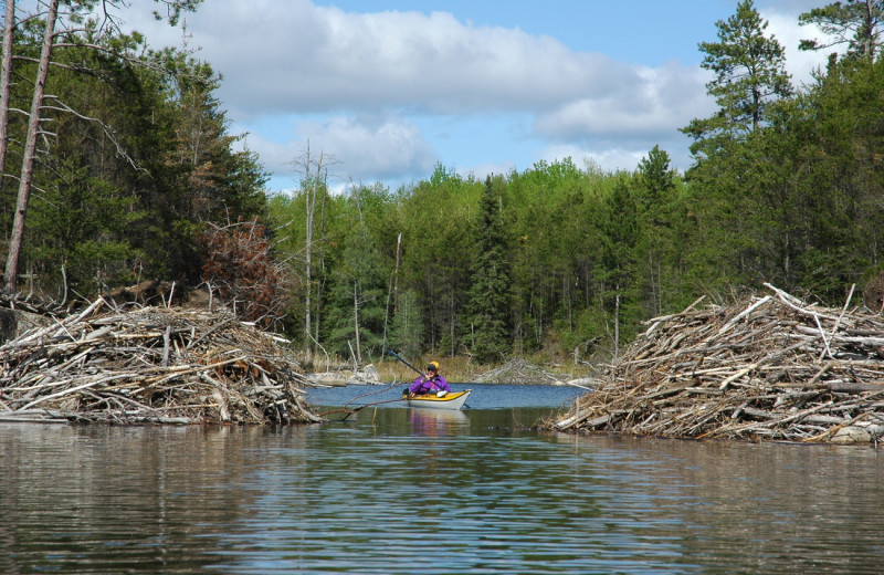 Kayaking at Smith Camps.