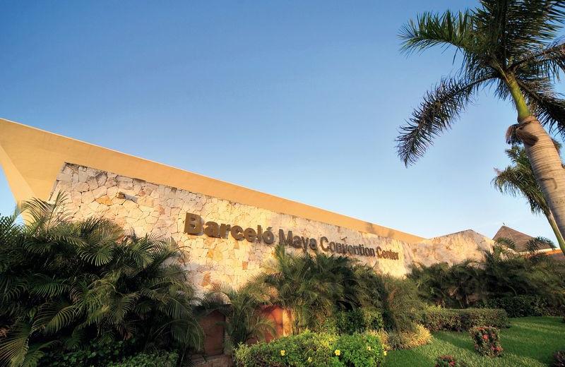 Convention Center Entrance at Barceló Maya Tropical