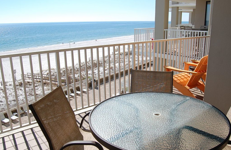 Rental balcony at Anchor Vacations, Inc.