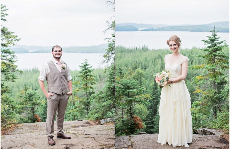 Weddings at Gunflint Lodge.