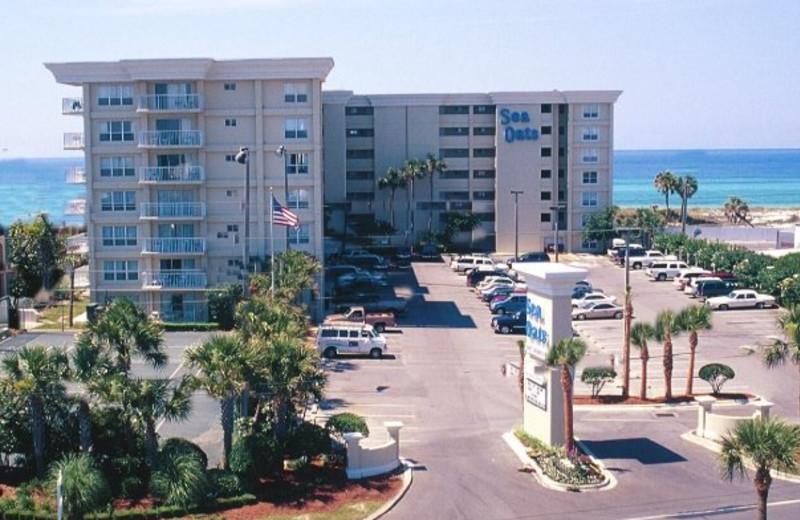 Vacation rental exterior at Beacon Resorts.
