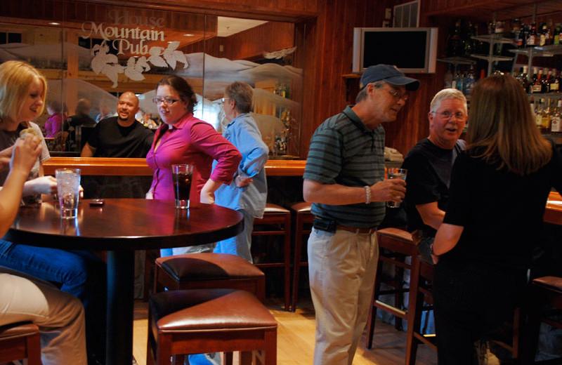 Bar at House Mountain Inn.