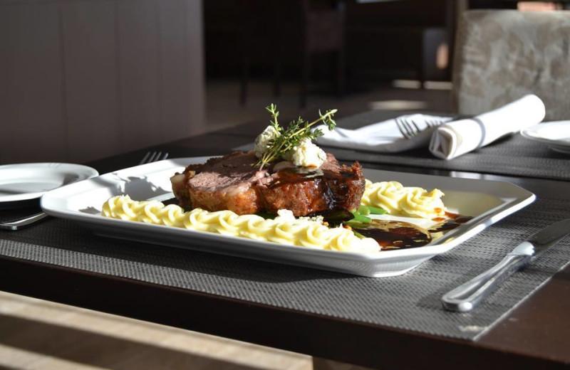 Cuisine at Lenape Heights Golf Resort.