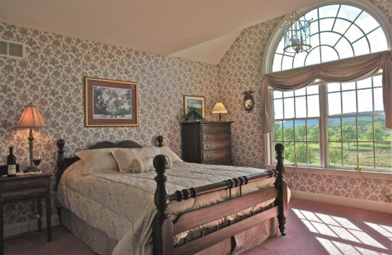 Guest room at Earlystown Manor B & B.