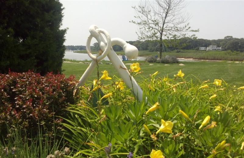 Garden Sculptures at Seatuck Cove House