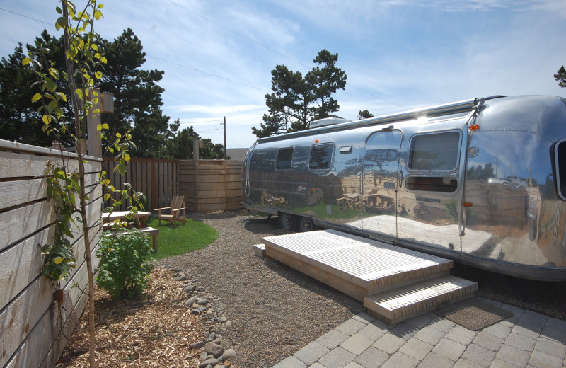 Exterior view at Airstreams at Haystack Village.
