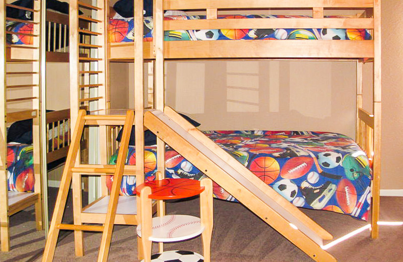 Rental bunk beds at All Seasons Accommodations, Inc.