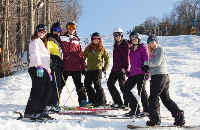 Lake Junaluska offers groups ski packages that enable them to stay at Lake Junaluska Conference and Retreat Center and ski at area slopes.