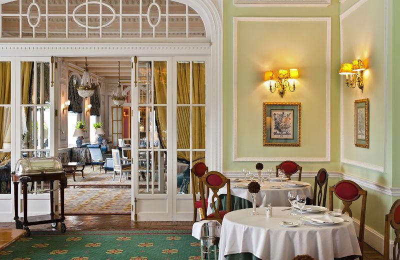Dining at Hotel Real, Santander.