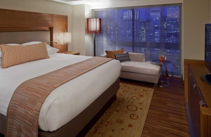 Guest room at Grand Hyatt San Francisco.
