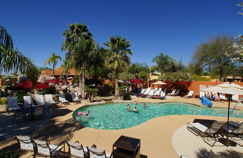 Outdoor pool at Monte Vista Village Resort.