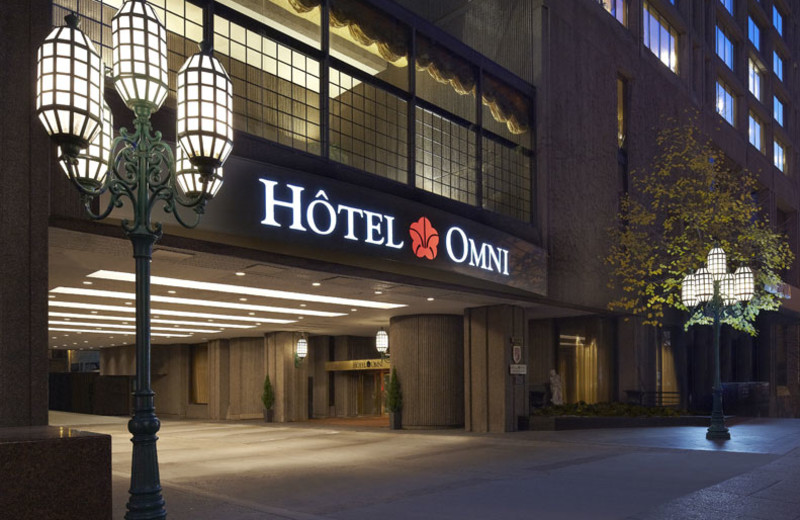 Exterior view of Hotel Omni Mont-Royal.