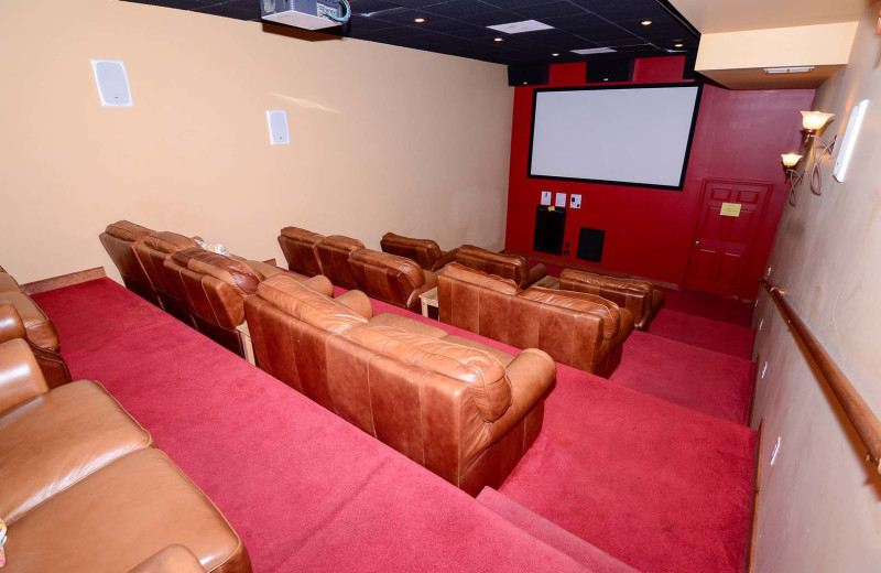 Rental theater at Railey Vacations.