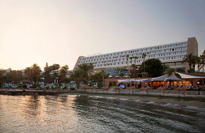 Exterior view of Amathus Beach Hotel.