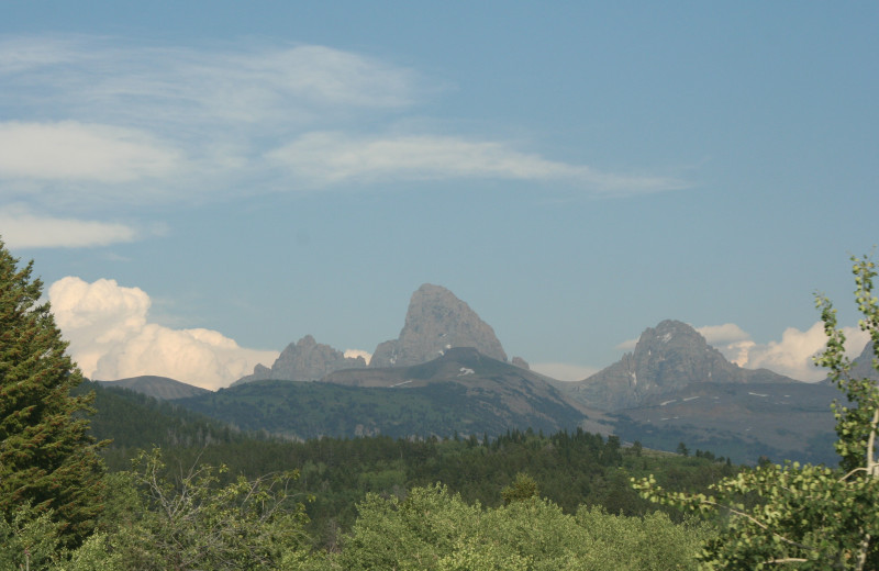 Mountains at Grand Targhee Resort.