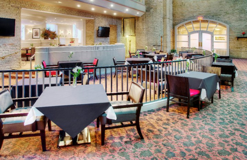 Dining at the Delta London Armouries Hotel