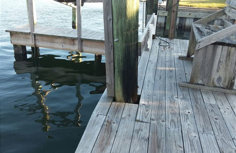 Rental dock at The House Company.