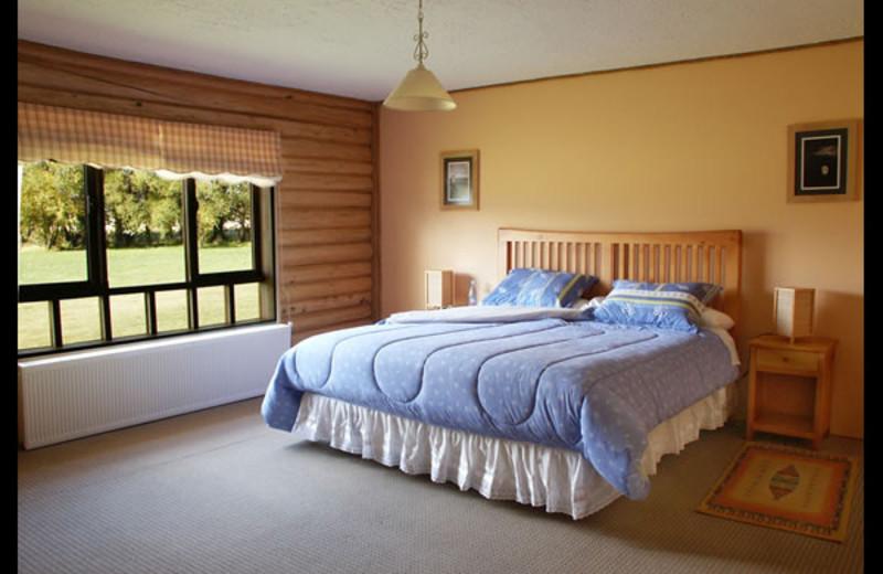 Guest room at Estancia de los Rios Lodge.