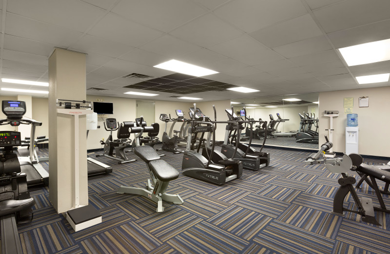 Fitness room at Long Bay Resort.
