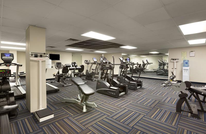 Fitness room at Long Bay Resort.