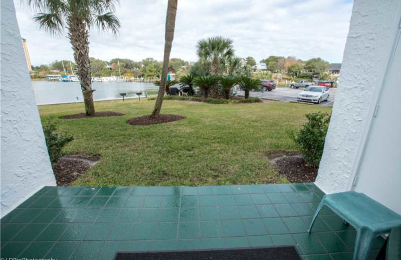 View from Holiday Isle Properties - Dolphin Point 103B.