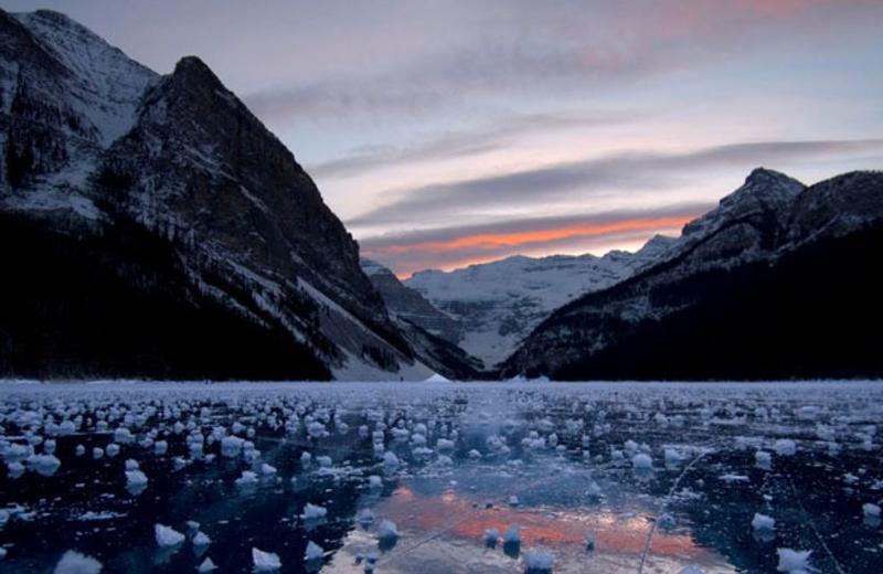 Glacier at Laidman Lake Ecolodge.