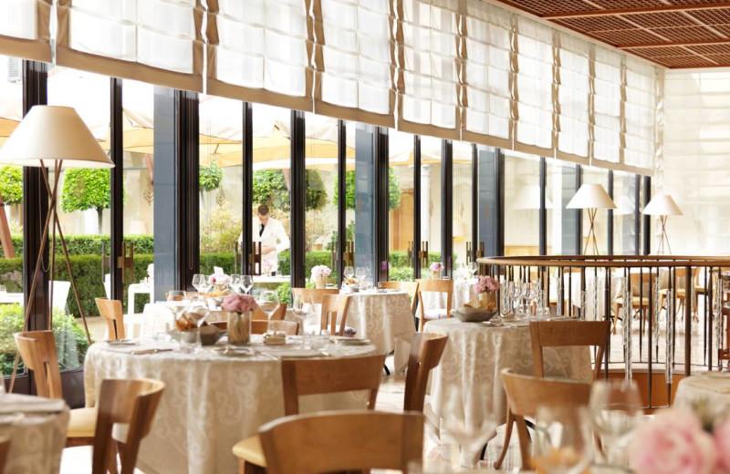 Dining at Four Seasons - Milan.