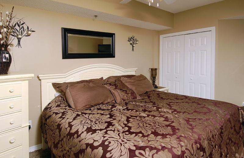 Rental bedroom at Bender Realty.