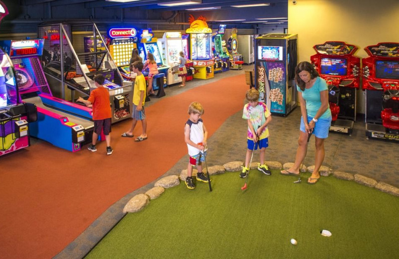 Arcade at Beaver Run Resort & Conference Center.