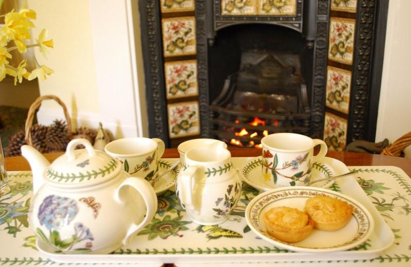 Tea time at Riverside Lodge-Ingleton.