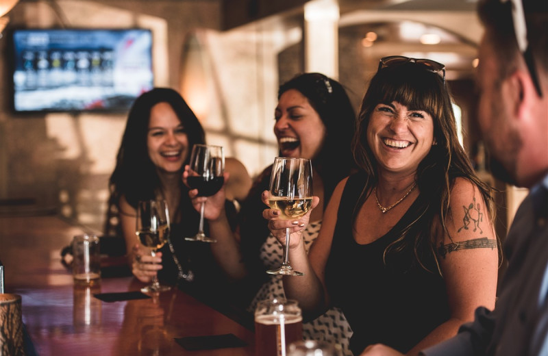 Guests of the hotel get all day happy hour pricing at Generations Tap & Grill