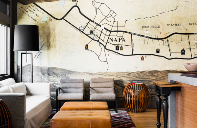 Lobby Area at Andaz Napa