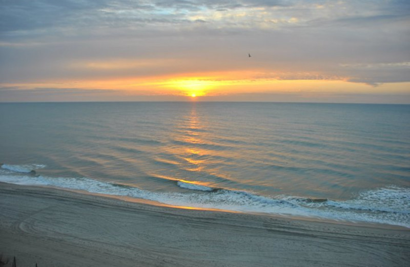 Sunrise at Myrtle Beach Vacation Rentals.