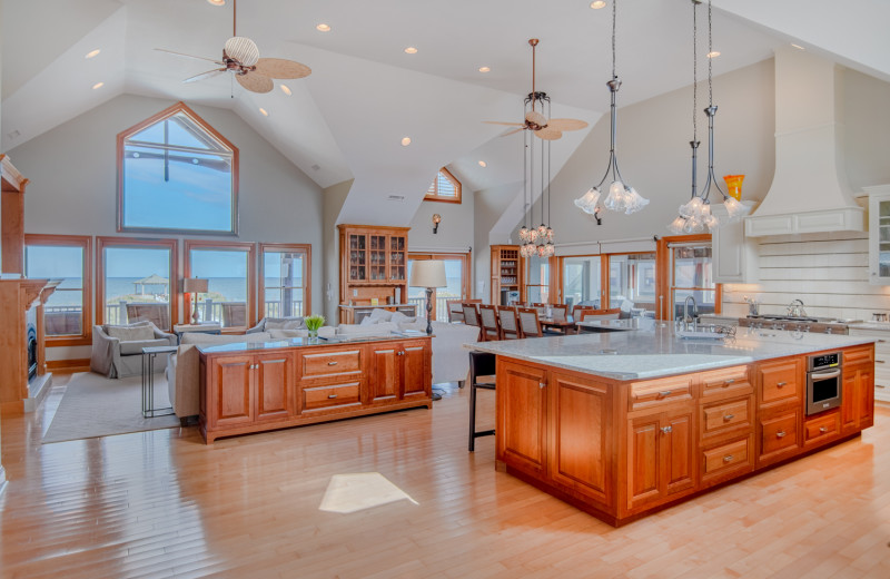 Rental interior at Joe Lamb Jr. & Associates Vacation Rentals.