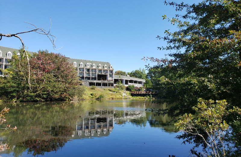 Exterior view of Chateau Resort and Conference Center.