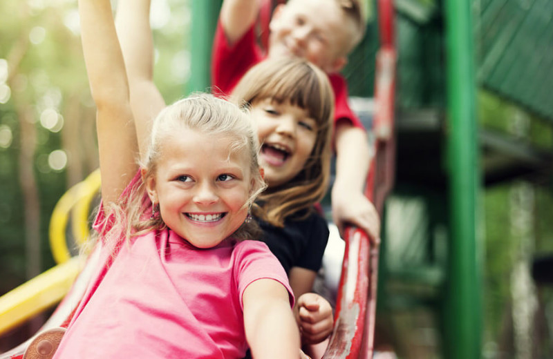 Kids playground at Westgate Branson Woods Resort.