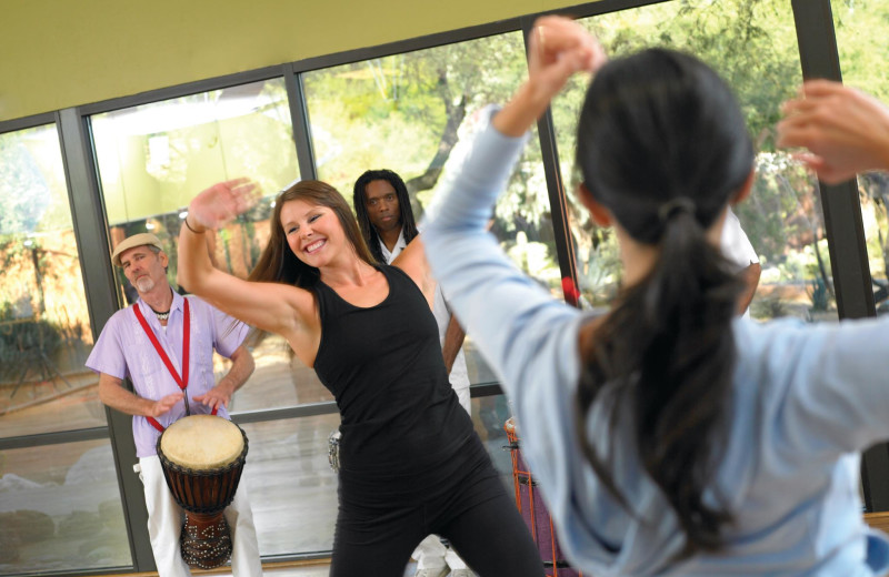 Fitness classes at Canyon Ranch Tucson.
