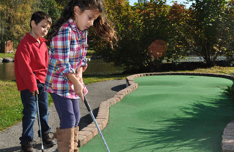 Mini golf at Rocking Horse Ranch Resort.