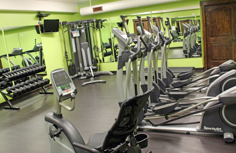 Fitness room at Mt. Princeton Hot Springs Resort.