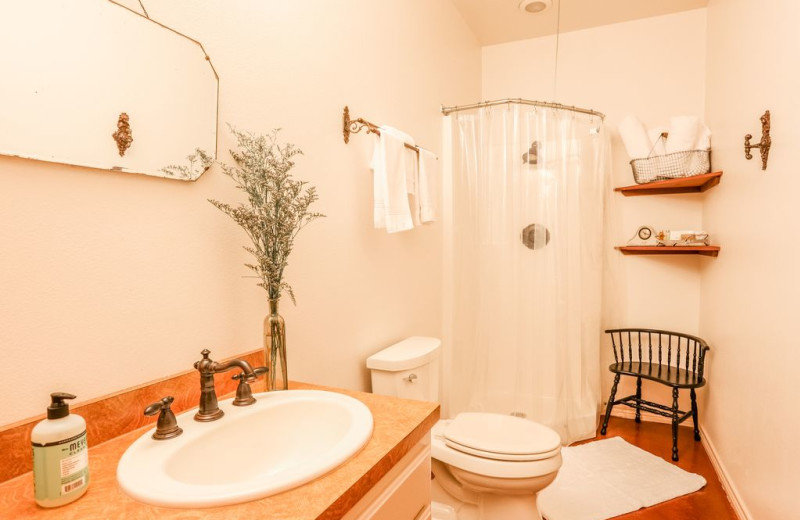 Bathroom at Farr Side Lake Vacation Home.