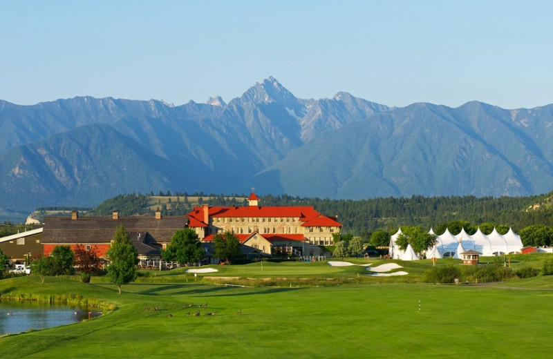 Exterior view of St. Eugene Golf Resort